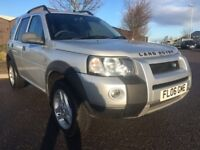2006 LAND ROVER FREELANDER 2.0 TD4 FREESTYLE 5 DR ESTATE 4X4 LOW MILEAGE M.O.T 23/09/2018