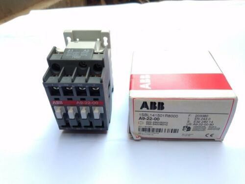 Asea Brown Boveri Contactor A9-22-00 1SBL141501R8000 ABB Relay 203380 New