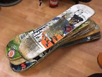 12 Used Skateboard Decks
