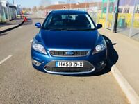 59 plate Ford Focus titanium diesel with service history