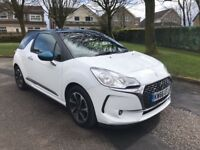 2017 Citroen DS3 Blue HDI, 7k miles, WARRANTY, diesel 1.6 manual, £0 tax, *NATIONWIDE DELIVERY*