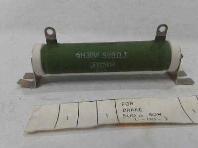 New Japan Resistor Mfg.co Ltd Gh30w 500j Resistor Marine Store Spare