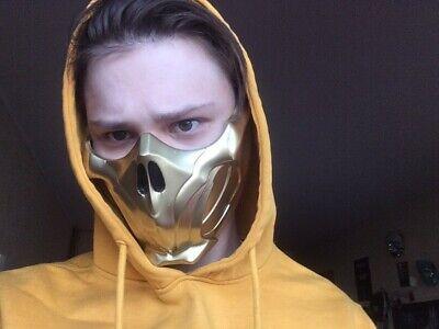 Scorpion mask from Mortal Kombat 11 (Scorpion Mask Mortal Kombat)