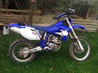 Yamaha WR250F Enduro motorbike