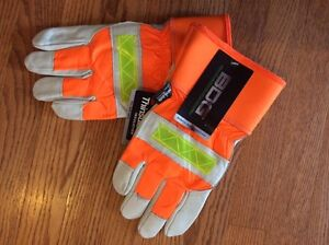 High Vis winter work gloves