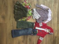 Girls clothes 4-5 y old. Mainly Next