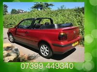 Ready For The Summer!!!! VW Golf 1.6 SE Cabriolet with FSH