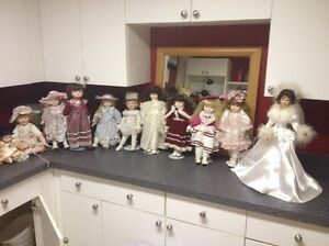 """12 -16"""" collector dolls"""