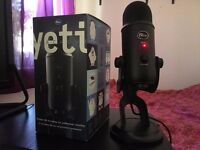 Yeti Blackout edition USB microphone £110/ONO