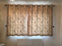Dunelm Mill Somg Bird Curtains