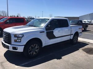F-150 xlt sport 2016 fx4 edition special