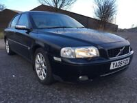 2005 VOLVO S80 2.4 D SE LUXURY 4 DR SALOON BARGAIN PRICE
