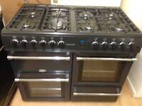 Black 8 Burner cooker