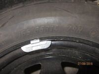 Ford KA Space saver wheel and tyre