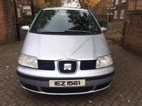 SEAT ALHAMBRA 1.8 FULLY AUTOMATIC 2006, VERY LOW MILEAGE, FULL SERVICE,2 PREVIOUS OWNER, LADY OWNER