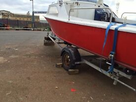 18foot cabin cruiser quick sale