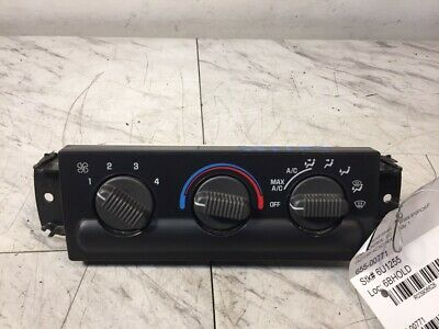 99 00 01 02 03 04 Chevy S10 AC Heater Climate Control OEM 16250545