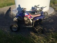 2002 Yamaha raptor may px motocross 2 stroke / farm quad