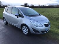 Bargain 61 Plate Vauxhall Meriva 1.7 CDTi Exclusive Very Low Miles