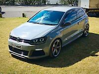 2015 POLO 'R' 1 OF 1 Turbo DSG 1.2 TSI NARDO GREY MODIFIED SWAPS GOLF ED30, gti ,r32 cupra ibiza a1