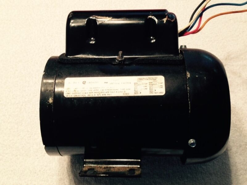 Little Giant Magnetic Drive Pump Motor 1/8 HP 115/230V 60HZ 20 GPM TE-5-MD-HC