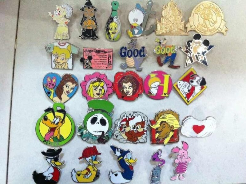 ~! 500 Mickey Disney Collectible Trading Pins Lot! 100% tradable! HM CAST LE~!