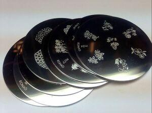 Konad-Stamping-Nail-Art-Image-Plates-M1-M59-PICK-ONE