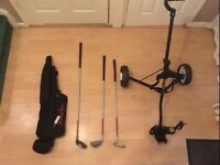Youth Half Golf Set with Trolley