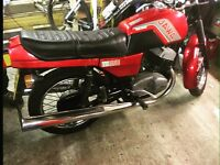 Jawa TS 350 twin sport classic bike