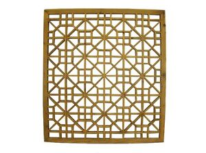 Chinese-Beautiful-Antique-Elm-Wood-Square-Window-Shutter-Late-Qing-Period