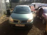 RENAULT SCENIC 1.5 DIESEL ENGINE 2004 BREAKING FOR SPARES AND REPAIRS