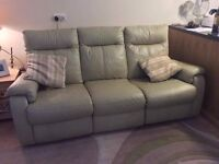 Reclining 3 seater sofa - need gone asap