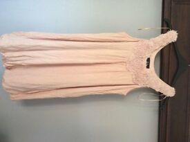 AX Paris dusty pink size 14 dress