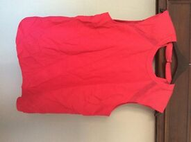 Size 18 river island pink top