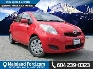 2010 Toyota Yaris LE LOCAL,