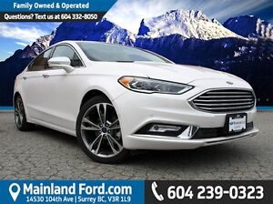 2017 Ford Fusion Titanium LOCAL, NO ACCIDENTS, LOW KM'S