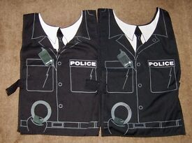 2 x Police Tabards