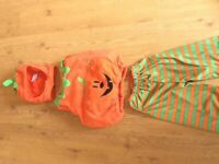Pumkin Halloween costume age 1-2 years