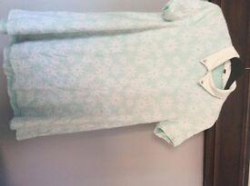 Size 14 mint daisy dress