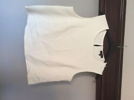 Size 18 white top