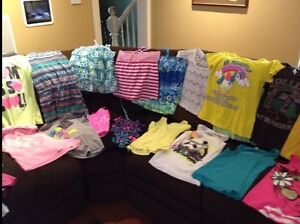 Girls tank tops & t- shirts- size 14/16