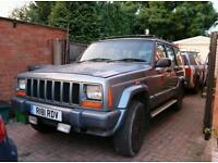 Jeep Cherokee xj 1998 4x4 Breaking 2.5 td diesel