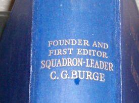 1938 AIR ANNUAL BY SQUADRON LEADER C G BURGE