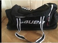 Bauer large wheeled ice hockey bag in excellent condition only used a few times.