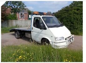 MAKsons recovery truck 24/7 and cash for scrap any vehicle