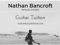 Guitar Tuition- Edinburgh Area