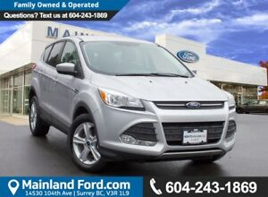2015 Ford Escape SE NO ACCIDENTS, LOCAL BC, LOW KMS