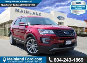 2016 Ford Explorer Limited NO ACCIDENTS, LOCAL