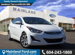 2015 Hyundai Elantra GL NO ACCIDENTS
