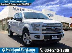 2015 Ford F-150 Platinum LOCAL, NO ACCIDENTS